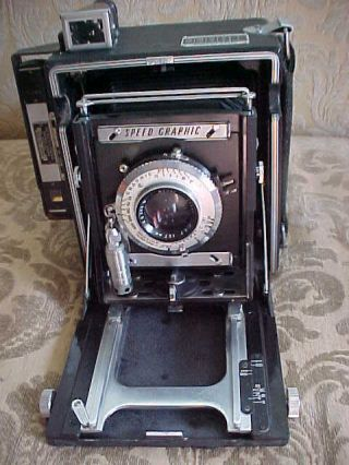 Fabulous Vintage Graphlex Speed Graphic Camera