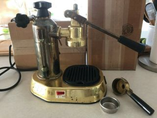 Vintage Lapavoni Professional Espresso Maker - Brass & Copper - Previously Owned