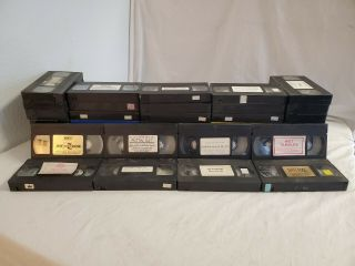 100 Vintage Adult Erotica Vhs Tapes No Cases Xxx Various Titles 70