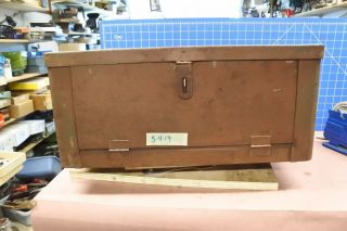 Rare Vintage Antique Early 1920's Plomb Tool Chest
