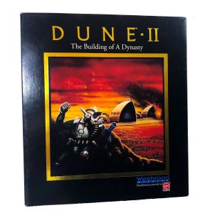 Dune Ii 2 The Building Of A Dynasty Pc Big Box Rare