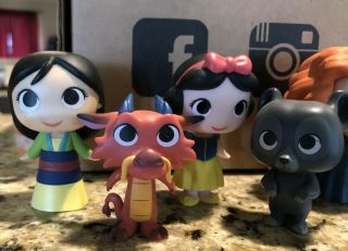 Disney Mystery Mini Vinyl Figures FUNKO Sidekicks COMPLETE SET EXTREMELY RARE 2