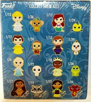 Disney Mystery Mini Vinyl Figures FUNKO Sidekicks COMPLETE SET EXTREMELY RARE 9