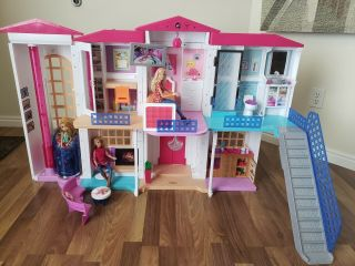 Barbie Hello Dreamhouse With Voice Control Wifi,  Interactive Play Hard To Find