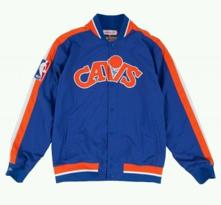 Authentic Mitchell & Ness Cleveland Cavaliers Vintage Warm - Up Jacket