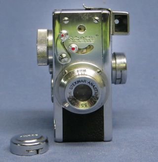 Ultra Rare Vintage Made In Japan Steky I Mini Subminiature Spy Camera