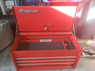Snap On Vintage Kra - 53 - C Three Drawer Tool Box Chest