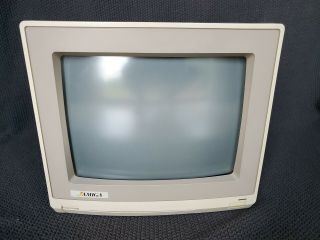 Vintage Amiga Model 1080 Color Computer Monitor And