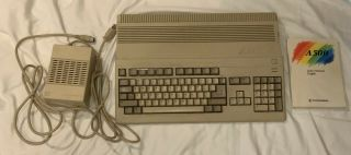 Vintage Commdore Amiga 500 With M - Tec 68020,  1mb Ram And Kickstart 3.  1