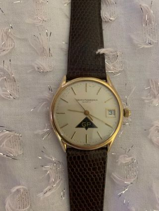 Vintage Girard Perregaux Solid 14k Gold 70s Or 80s Awesome