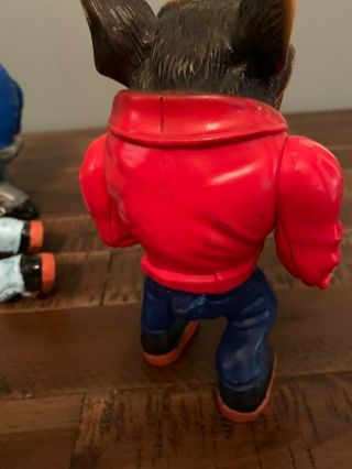 Muscle Mutts extremely rare like street sharks action figure retro vintage toy 10