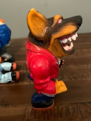 Muscle Mutts extremely rare like street sharks action figure retro vintage toy 11