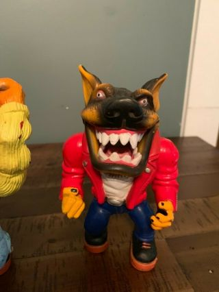 Muscle Mutts extremely rare like street sharks action figure retro vintage toy 2