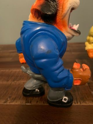 Muscle Mutts extremely rare like street sharks action figure retro vintage toy 3
