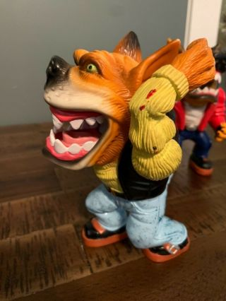 Muscle Mutts extremely rare like street sharks action figure retro vintage toy 6