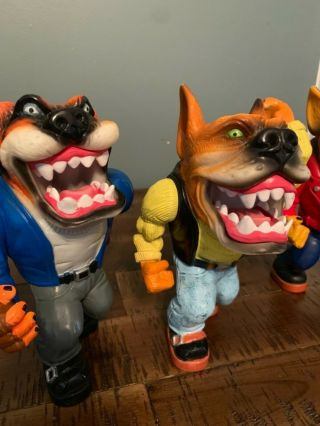 Muscle Mutts extremely rare like street sharks action figure retro vintage toy 7
