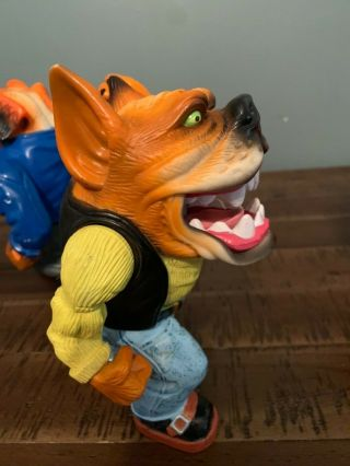 Muscle Mutts extremely rare like street sharks action figure retro vintage toy 8