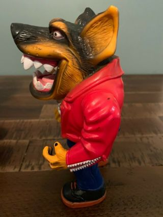 Muscle Mutts extremely rare like street sharks action figure retro vintage toy 9