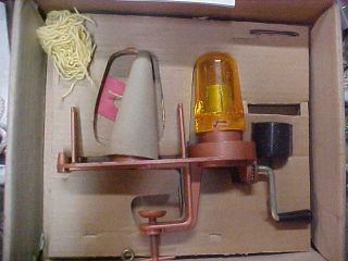 1948 Hobby - Knit Knitting Machine Rare Vintage Antique Montello Products Co
