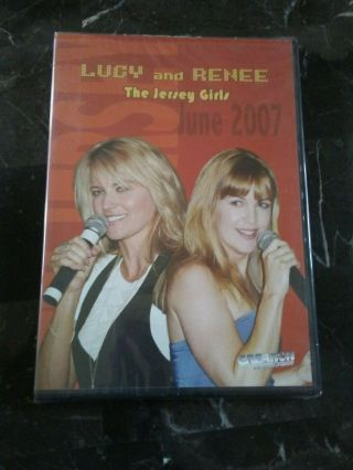 "Ultra Rare Xena Lucy And Renee "" The Jersey Girls "" June 2007 Convention Dvd"