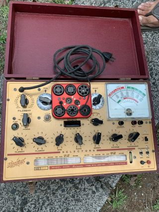 Vintage Hickok 6000 Dynamic Mutural Conductance Tube Tester