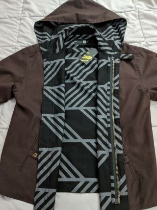 Ultra Rare Only One Ever Made Sig Zane Brown Espresso Jacket Small