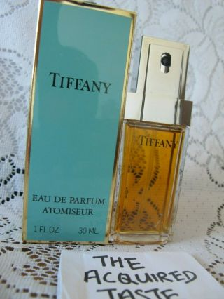 Rare Vintage 1980s Tiffany 30ml 1.  0 Oz Edp Eau De Parfum Women Perfume Boxed