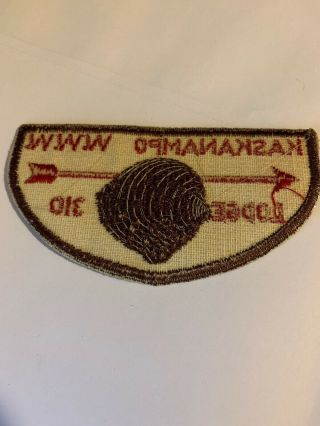 Vintage Boy Scout Patch Kaskanampo Lidge 310 W.  W.  W.  BSA 2