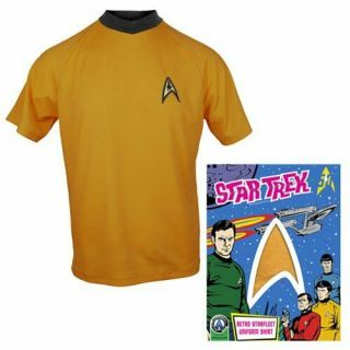 Anovos Star Trek Animated Shore Leave Tunic Shirt Complete Set,  Extremely Rare 3