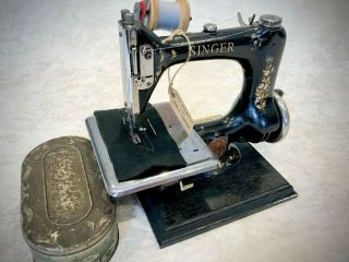 Old Rare Vintage Antique Singer Model 24 Hand Crank Sewing Machine G5200921 Wow