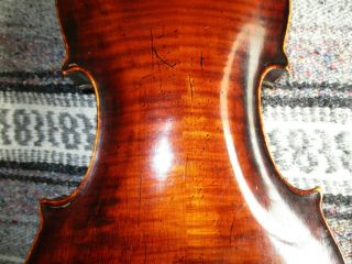 Rare Fine Old Antique 1810 Vintage German Master Klotz? 4/4 Violin - Solo Tone