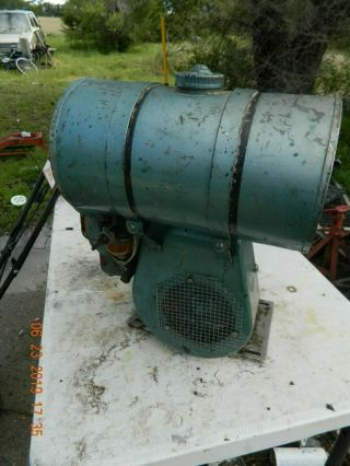 Vintage Briggs & Stratton Model N Engine Motor Military ? Hand Lever Start Runs