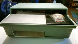 """Vintage Old 3m Thermo - Fax Copier """" The Secretary """" Copying Machine Model: 22"""