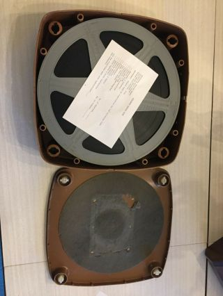 "16 Mm "" Romeo And Juliet "" Vintage Film Stock Reels With Protective Box"
