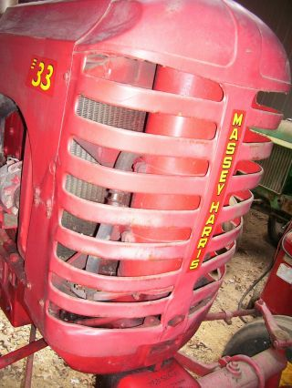 Vintage Massey Harris 33 Tractor - Grille Assembly - Rat Rod Piece