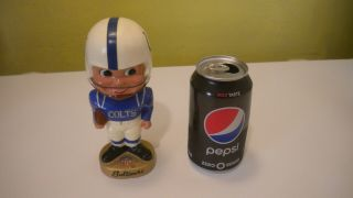 Vintage Baltimore Colts Nfl Bobblehead Nodder Sports Specialties L.  A.  67 - Calif.