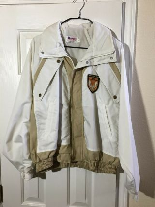 Vintage 1989 20th Anniversary Turbo Trans Am Indy 500 Jacket Large