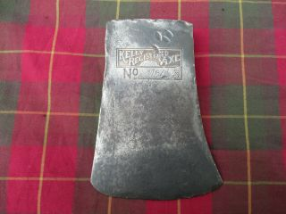 Vintage Kelly Registered Axe Head Embossed Connecticut? Pattern