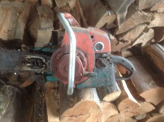 Vintage Large 900 Series Homelite Chainsaw
