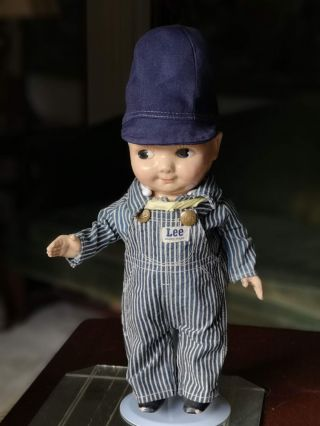 Vtg Buddy Lee Doll 1950