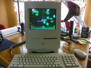 Vintage Apple Macintosh (mac) Color Classic 250 Mb Max Ram System 7.  5.  1