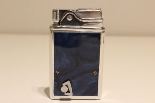 Vintage Very Rare Musical Cigar Benzin Petrol Lighter With Ussr Melody