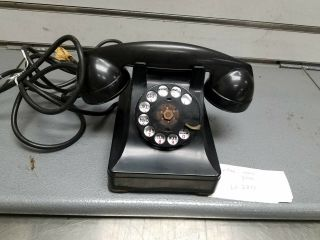 Antique Vintage Western Electric (bell System) C/d Rotary Telephone Balkelite 40
