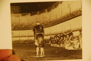 Vintage Babe Ruth Negative Final Appearance Stadium 1948
