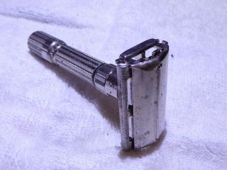 Vintage Gillette Safety Razor Adjustable 1958 D3 Fatboy