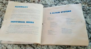 WOW MITS Altair 8800 Computer Systems Brochure 1974 - S100 vintage 3