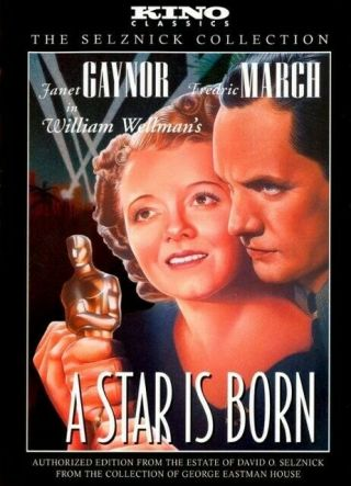 16mm A Star Is Born Feature Movie Vintage 1937 Film