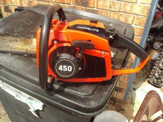 Vintage Homelite 450 Chainsaw Rare Runner