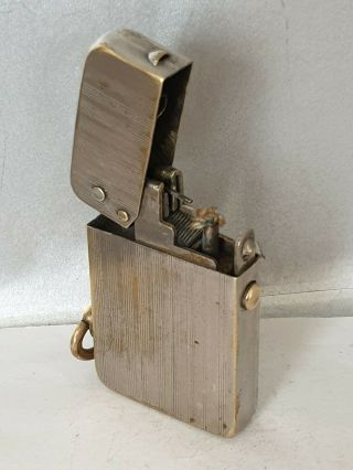 Vintage C1915 Always Push Button Petrol Lighter Rare