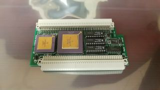 Vintage Interware Booster 30 - Se50f 68030/50mhz Pds Cpu Accelerator For Mac Se/30